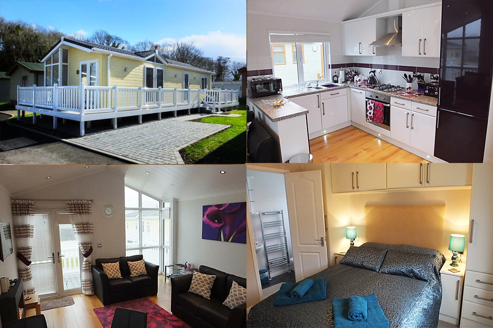 Saundersfoot self catering holiday lodge